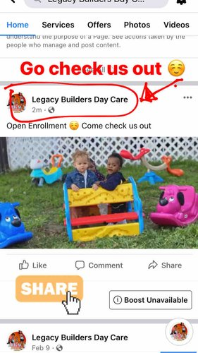 Photo of Legacy Builders Day Care WeeCare